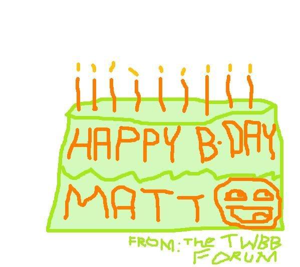 Happy Birthday, Sir Mercer! Mattbday