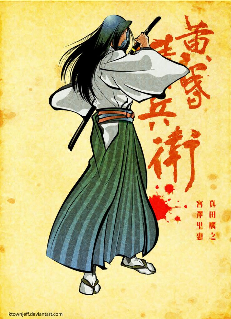 Ficha de Ukyo. Samurai_shodown__ukyo_by_ktownjeff-d464ptr