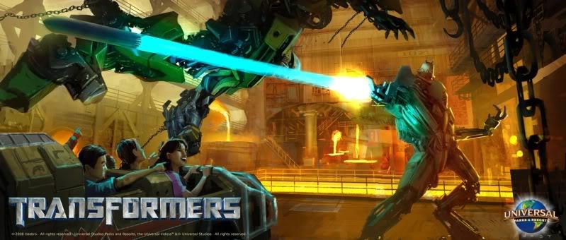 Transformers: the Ride : Universal Studios Hollywood Transformersride2