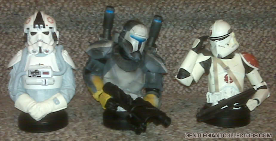 Republic Commando Mini Bust Compare113