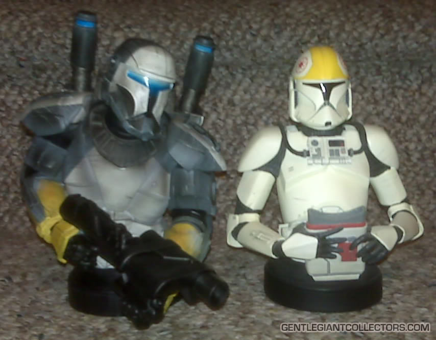 Republic Commando Mini Bust Compare115