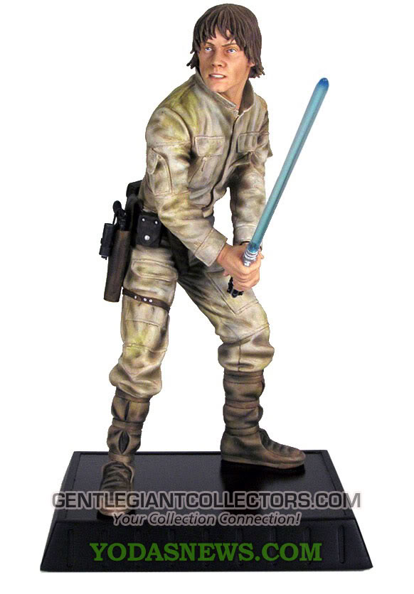 Luke Skywalker Bespin Statue Luke1stat