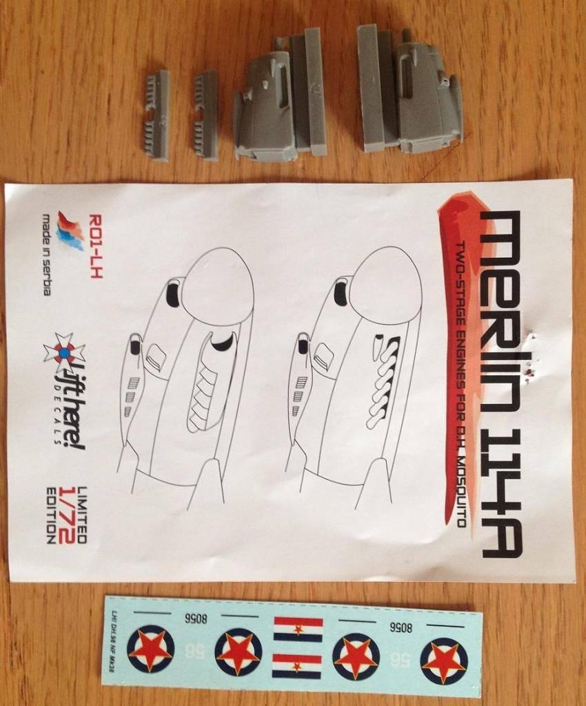 Merlin 114 resinski motori - prodaja 1