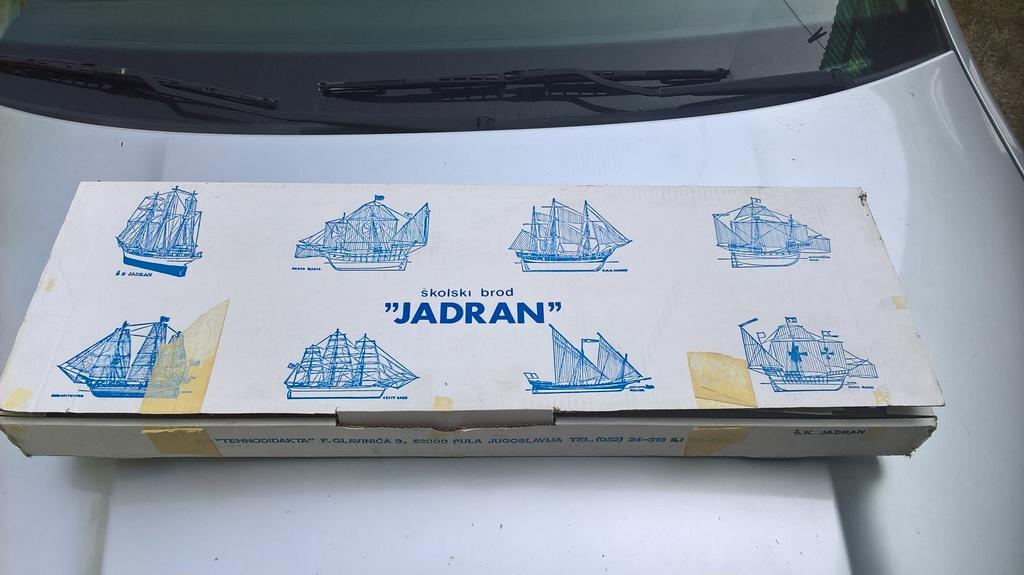 PRODAJEM - školski brod Jadran Jadran%202