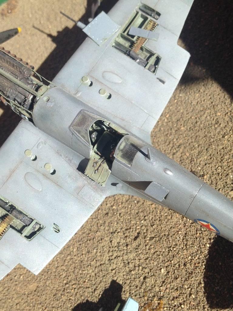 1/72 diorama Spitfire Mk.V  14