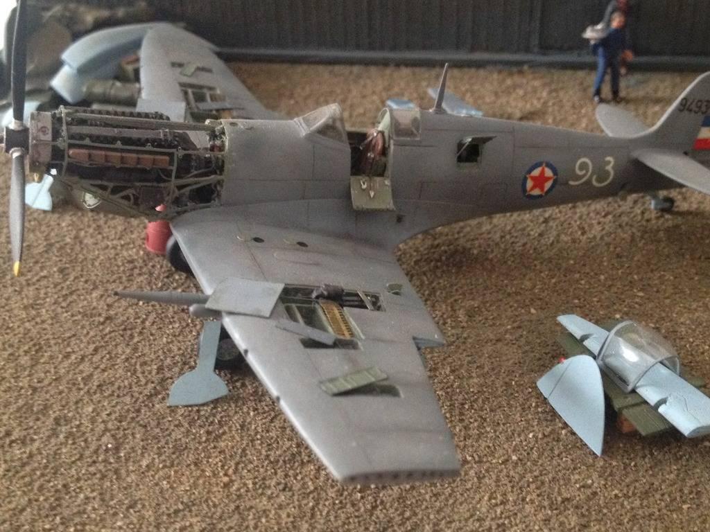 1/72 diorama Spitfire Mk.V  3