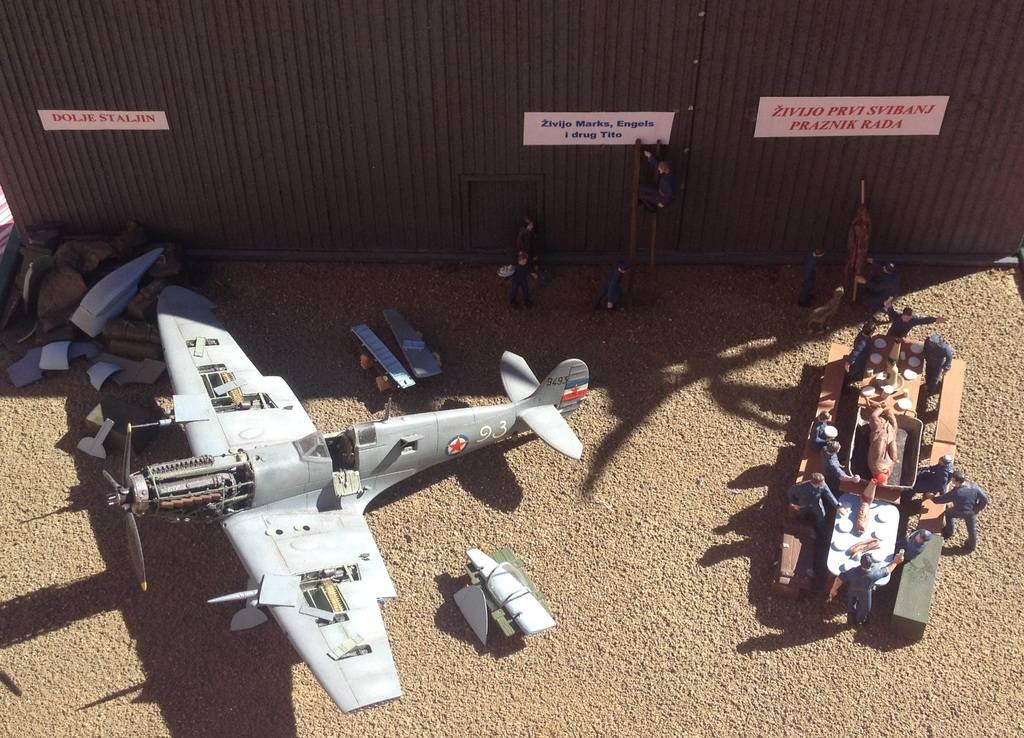 1/72 diorama Spitfire Mk.V  4
