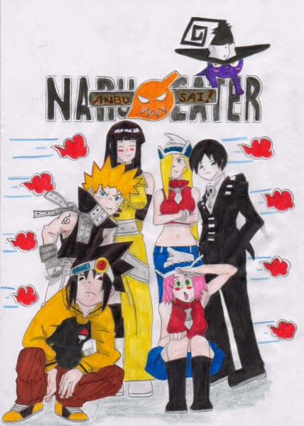 Naru Eater! xD Naruto + Soul Eater ??? Narueater