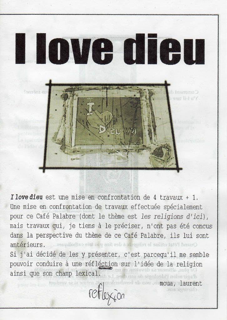 """Café Palabre n°2 Expo """"I love Dieu"""" Sanstitre-8"""