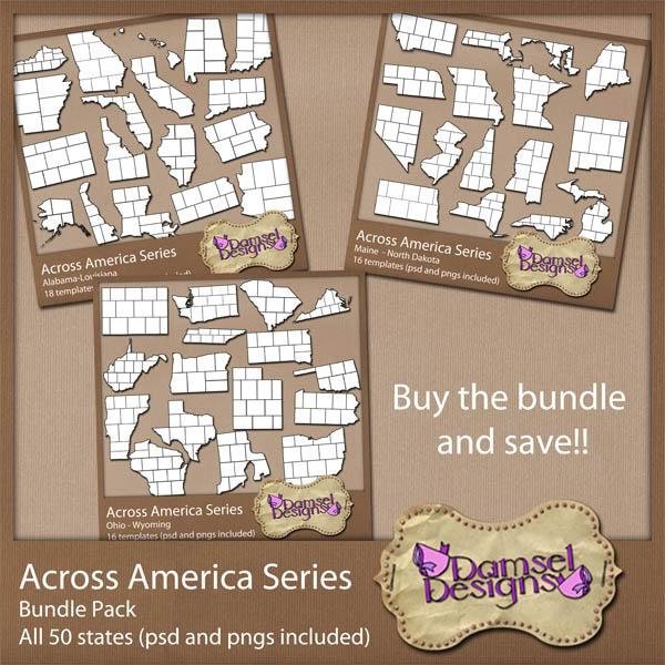 Damsel Designs Products DD_AcrossAmericaSeries_Bundle