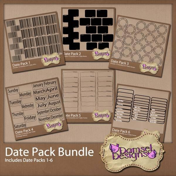 Damsel Designs Products DD_DatePacks_DatePack_bundle_Preview