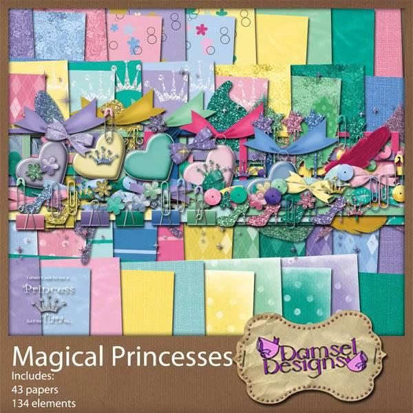 Damsel Designs Products DD_MagicalPrincesses_kit