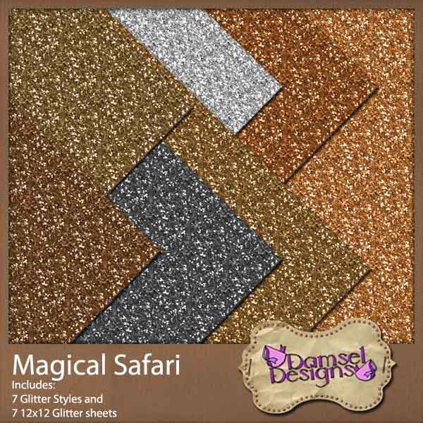 Damsel Designs Products DD_MagicalSafari_Glitters