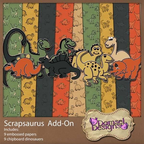 Damsel Designs Products DD_Scrapsaurus_addon