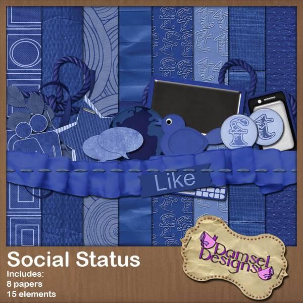Damsel Designs Products DD_SocialStatus_Mini_Preview