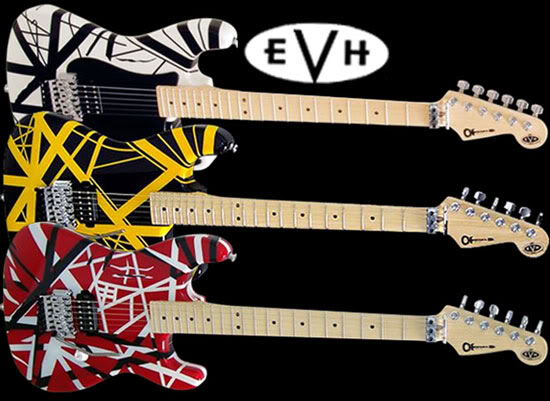 Gitarnya Eddie Van Halen dari masa ke masa!! (With PIC) Charvels