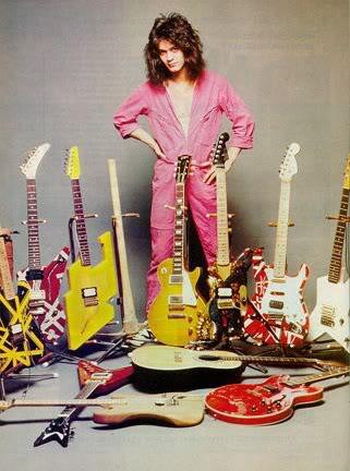 Gitarnya Eddie Van Halen dari masa ke masa!! (With PIC) EddieVanHalen