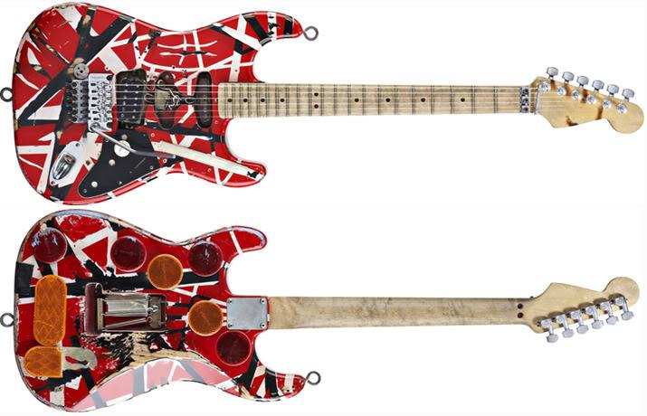 Gitarnya Eddie Van Halen dari masa ke masa!! (With PIC) Frankygroup