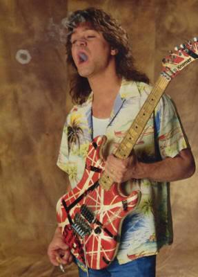 Gitarnya Eddie Van Halen dari masa ke masa!! (With PIC) Ringer