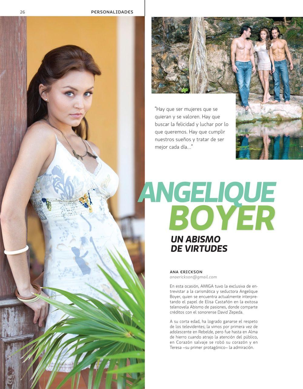ანჯელიკ  ბოიერი // Angelique Boyer #2 - Page 2 A42a9a704b956498c70ac6457c15912d