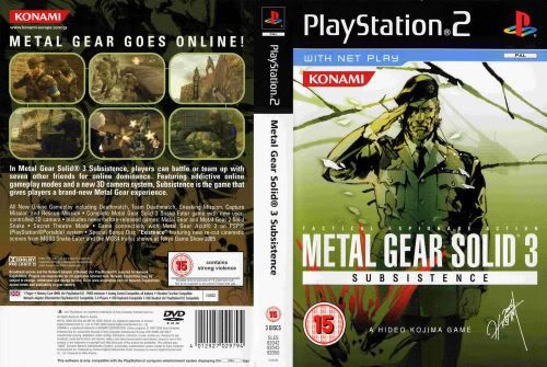 Metal Gear Solid 3 Mg1
