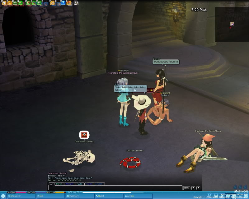 A little game of Strip Dice with a few friends Mabinogi_2009_06_15_003