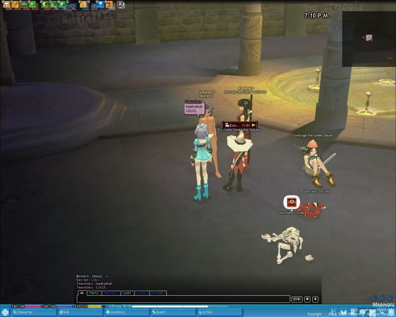 A little game of Strip Dice with a few friends Mabinogi_2009_06_15_006
