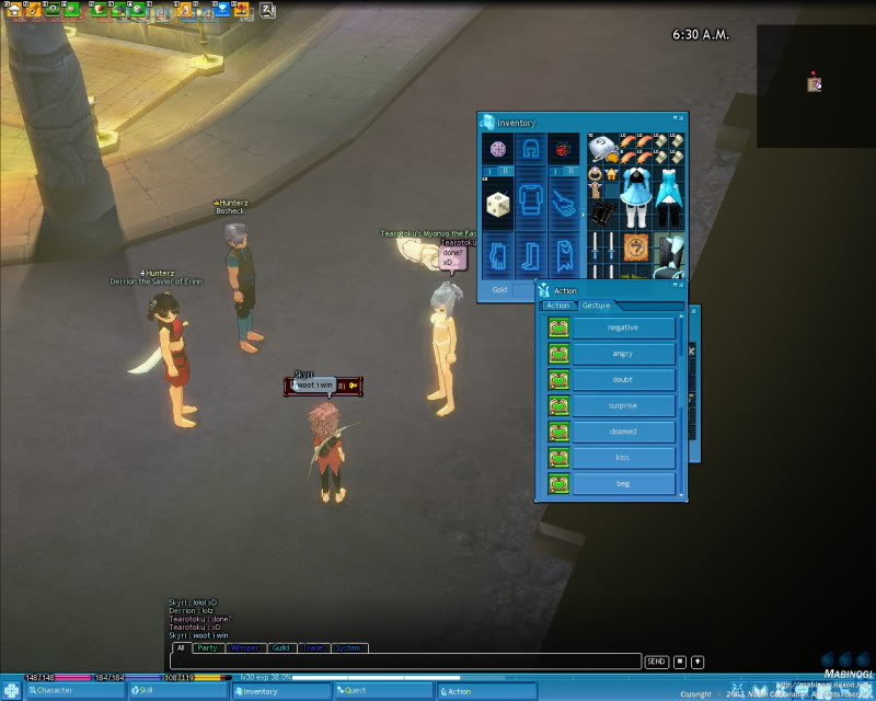 A little game of Strip Dice with a few friends Mabinogi_2009_06_15_009