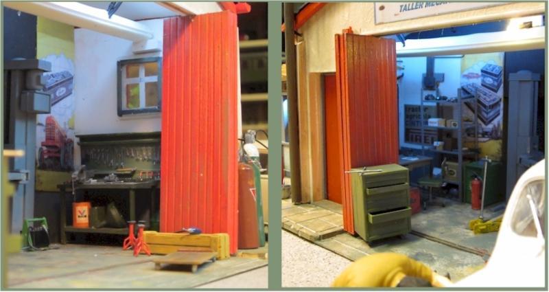 La construcció d'una estació utilitzant PVC Foamboard - Página 2 Garage_detail