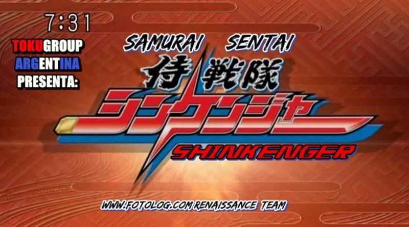 [Renaissance]Samurai Sentai Shinkenger ShinkengerFansubDemo