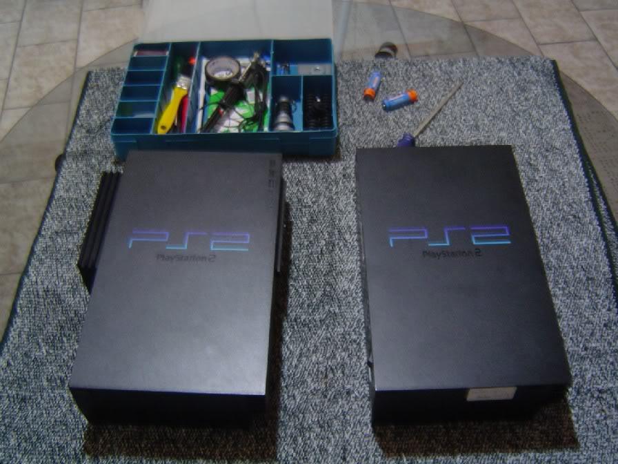 [PS2] limpeza da PS2 Fat 48