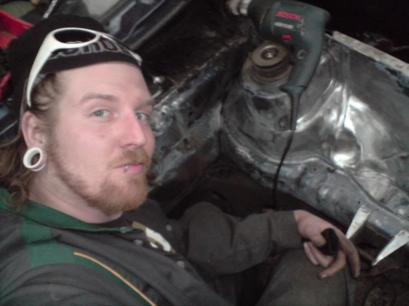 My 5Door MK1 Golfer. 'G'it yer rat out love!!' P020308_165703