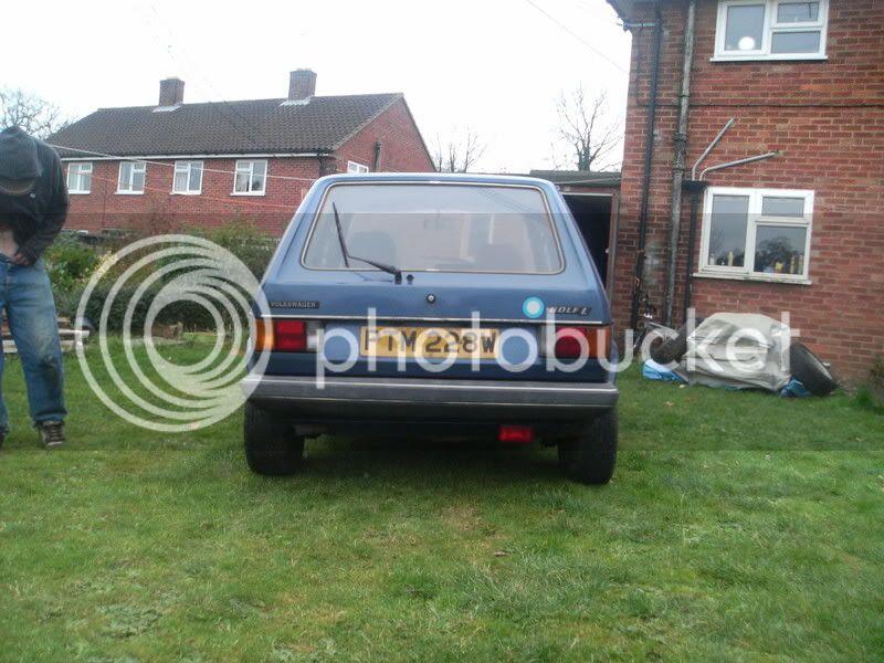My 5Door MK1 Golfer. 'G'it yer rat out love!!' Mk13