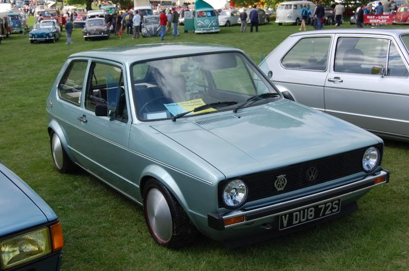 My new MK1 Golf - now on moondiscs! Alltypesmoon