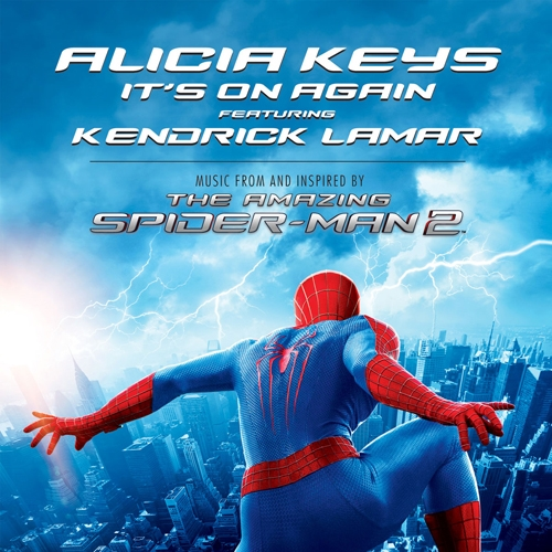"Single > ""It's On Again"" (Featuring Kendrick Lamar) (2014) Alicia-Keys-Spider-Man_zps230682bd"