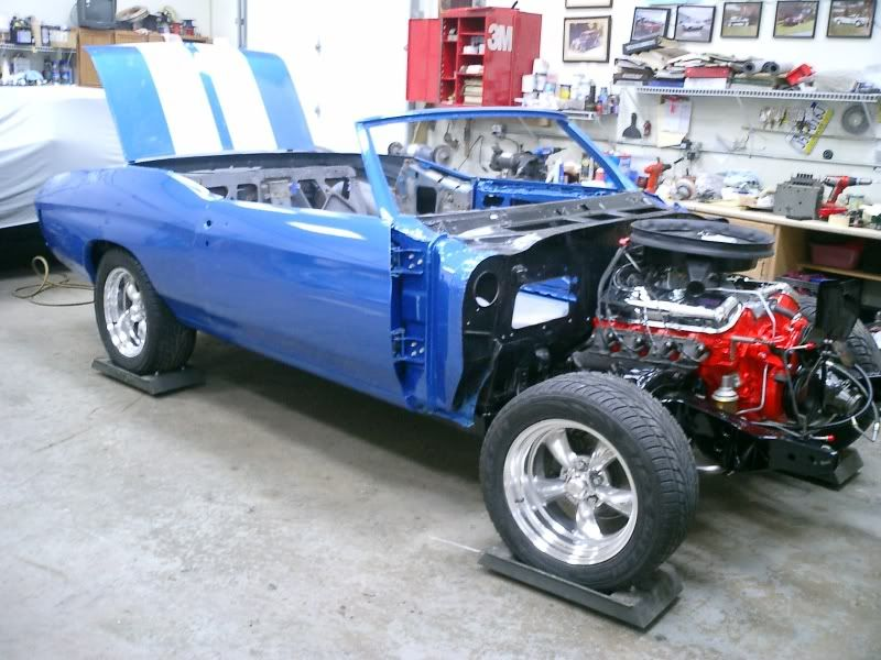 Some picks of my dads 71 Chevelle. Blue71rag016
