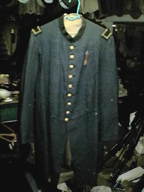 Some original American Civil War Jackets 17thcorpslt