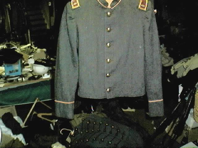 Some original American Civil War Jackets 50wacoat
