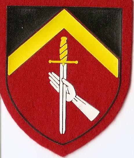 Belgian Army Insignia 3rdmilitarydistrict