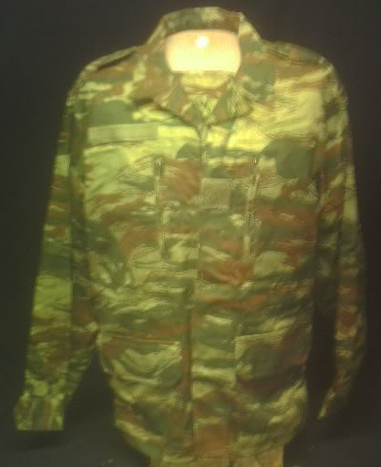 French Lizard Skin Camo M-64 Jacket PICT0046