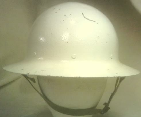 Civil Defense Air Raid Warden's Helmets PICT0050