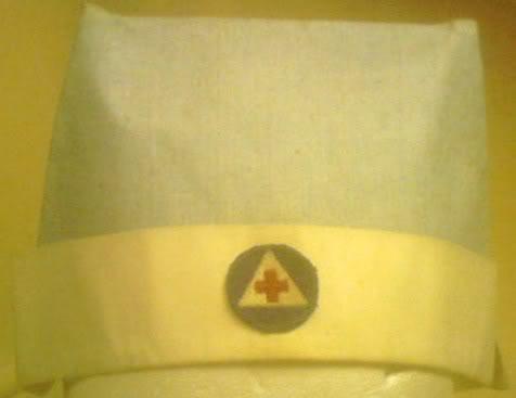 Civil Defense Nurse Cap. PICT0052