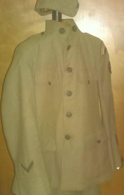 A few of my WW1 Uniforms PICT0018-1