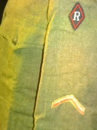 A few of my WW1 Uniforms PICT0741