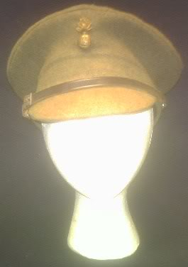 Some WW2 British hats and helmets Ww2britoffcap1