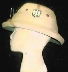 A bit of WW2 German headgear Africapith1