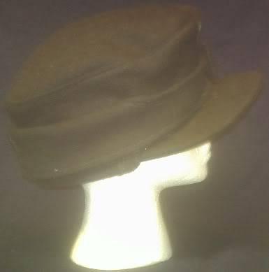 A bit of WW2 German headgear Sspanzerhat2