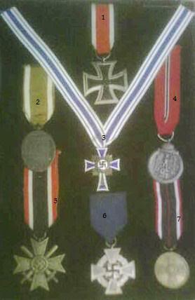 Some WW2 German medals and insignia PICT0084