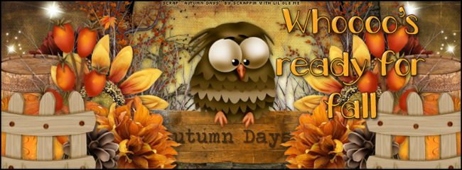 Font Frenzy • Nov 3 - 9 - Page 2 AutumnOwl650x240WhooosReadyForFall
