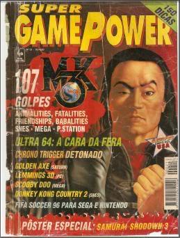 Revistas de videogame digitalizadas SGP21